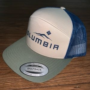 NWT Columbia Mesh Back Hat